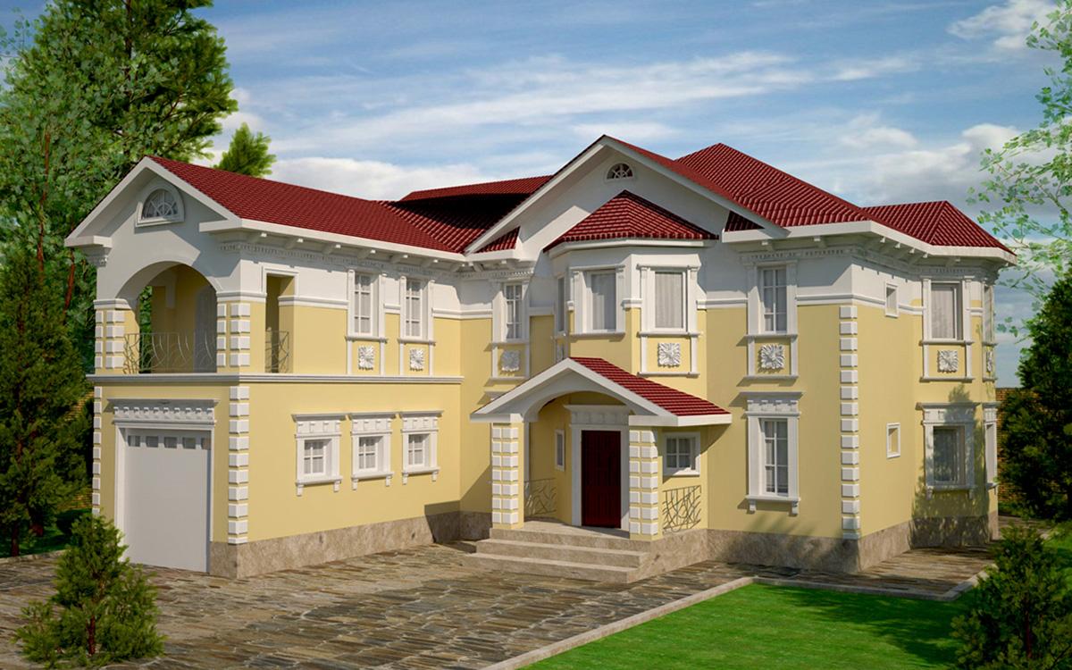 Скачать программу для дизайна фасадов домов